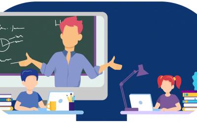 3 dicas para cativar as crianças durante as aulas online