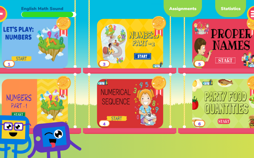 Fun homework with Escribo Play: meet the Assignments menu!