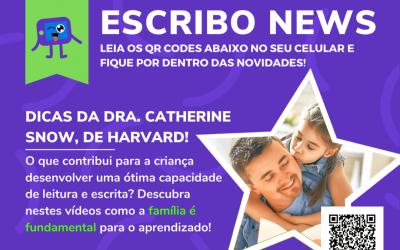 Escribo News: nova forma de acompanhar as principais novidades da Escribo!