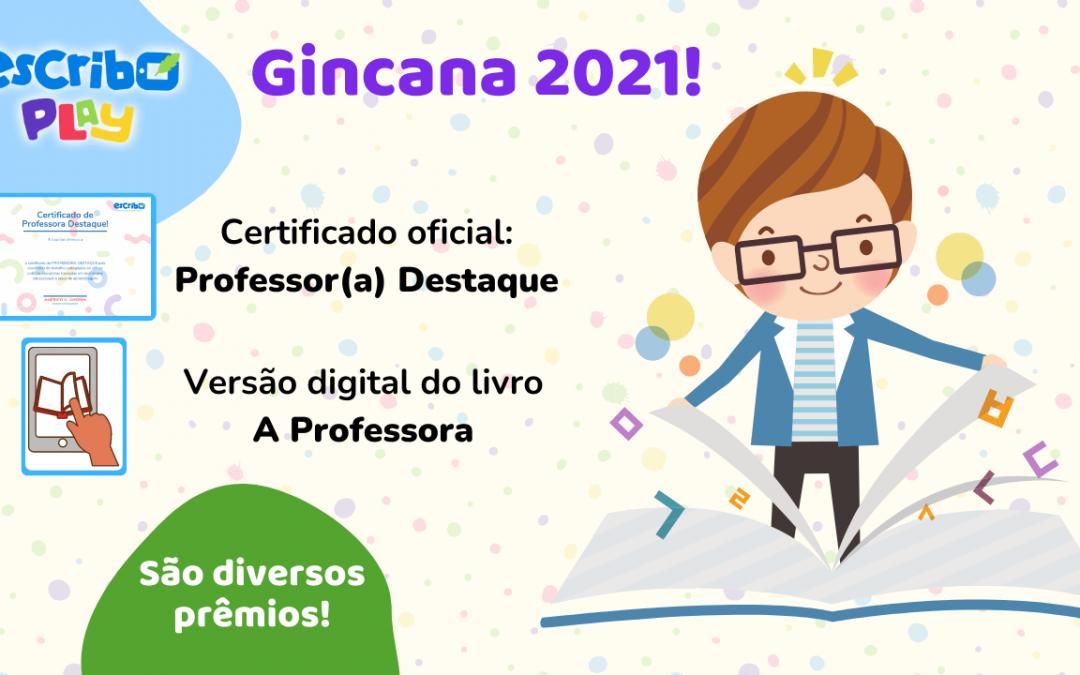 Escribo Play Gincana de Aprendizagem 2021: ganhadores serão divulgados no decorrer de julho de 2021!